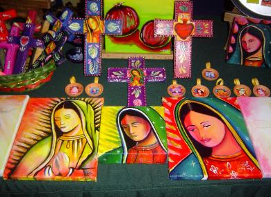 Expresiones, Expressions, Dolores Gonzalez Haro, Expresiones de Arte, Chicana, Our Lady, Virgen Mary, Mexican Art